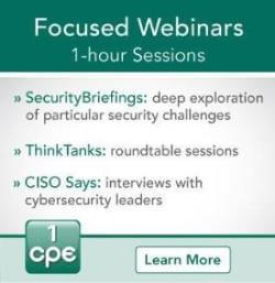Focused Webinars