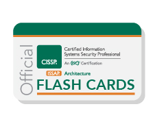 Official (ISC)² CISSP-ISSAP Flash Cards